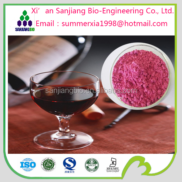 Red wine extract Polyphenol40% Red wine extract Powder