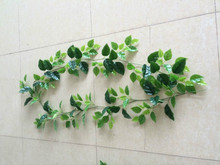 2015 hot sell artificial hung Vine artificial leaf craft