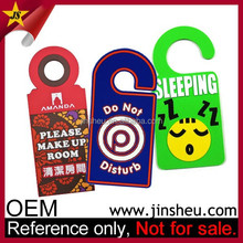 Promotional Do Not Disturb Decorative Christmas Door Knob Hanger