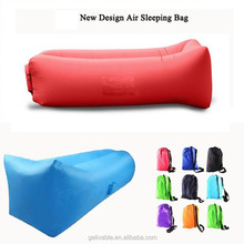Outdoor portable lightweight nylon air sofa inflatable lounger