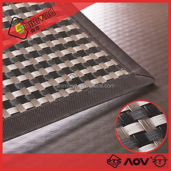 European style mat all sorts of weave design, table mat and car floor mat