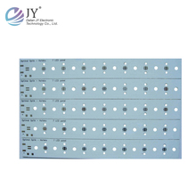 printed circuit board high power led pcb board uv light tube led t8 tube9.5w pcb
