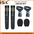 hot sale instrument condenser microphone set string microphones