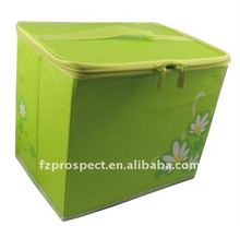 Foldable home large canvas storage bin