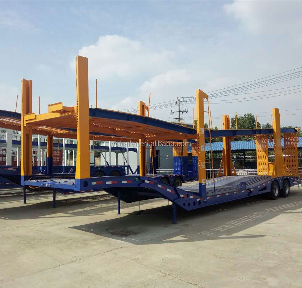 best selling 3 axle Factory Car Carrier Semi Trailers For Sale