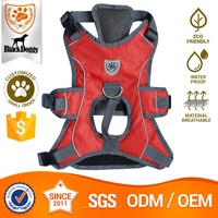 Customize Neoprene Mesh Reflective Dog Harness H Pet Outerwears
