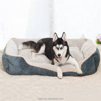 Wholesale Dog Product Soft Comfort Fabric Pet Dog Bed Enchante Accessories Dog Bed