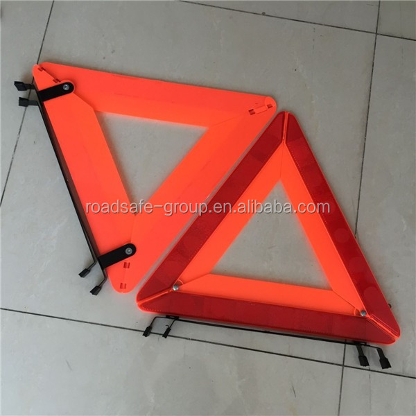 parking safety warning triangle board, Sign emergency stop