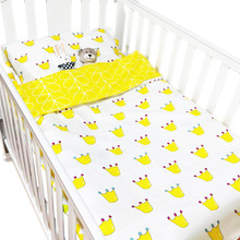ZOGIFT wholesale Top Quality 100% Organic cotton bed sheets sets baby bedding sets