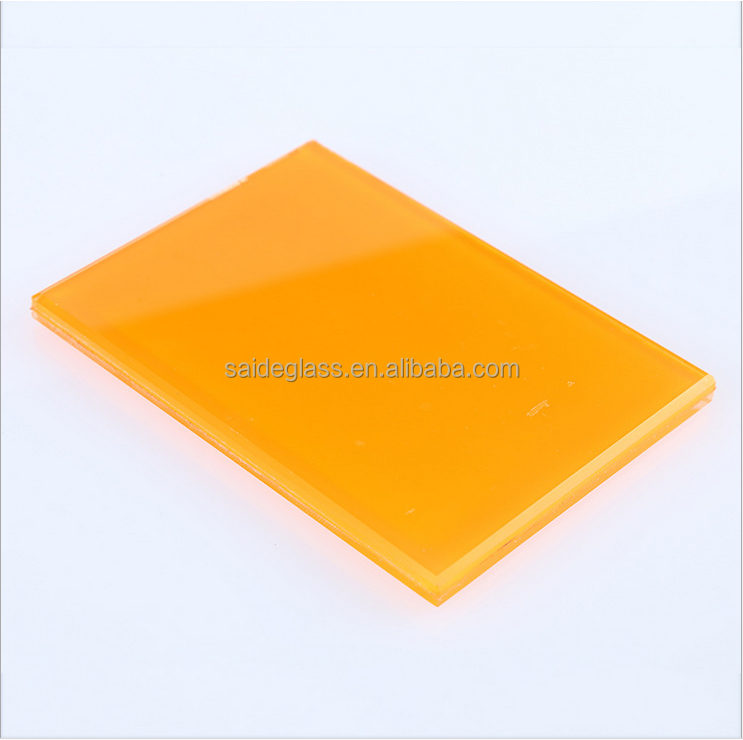 Tempered ,insulated,and laminated paint glass for home decoration