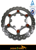 MX Oversize 270mm Floating Brake Disc For Honda Yamaha Suzuki Kawasaki KTM