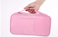 China factory direact wholesale Travel underwear case / Portable Storage Bag / Bra Organizer