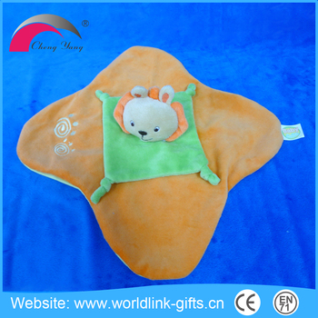 Hot sale high quality custom plush soother for baby organic plush toys