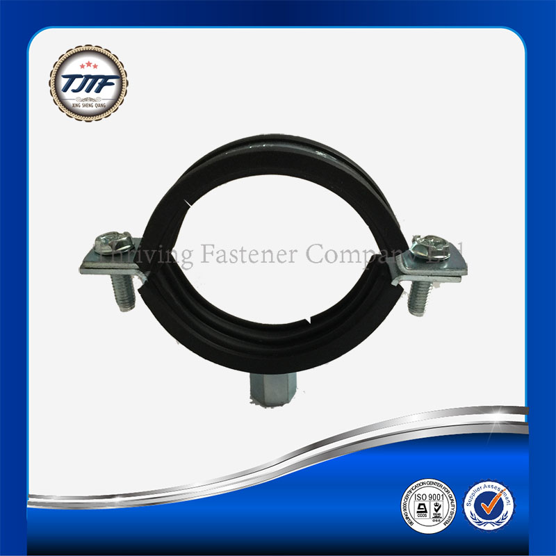 Rubber Lined P Clips Hose Pipe Clamp Stainless Steel/hose clamp