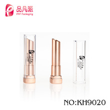 Classic high grade pinfanpai plastic square tube packaging lipstick cover with clear lid