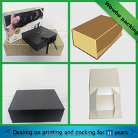 Luxury magnetic paper gift box packaging