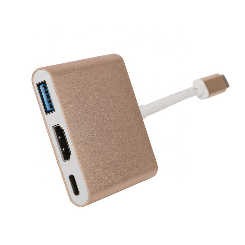 Type <strong>C</strong> Male to HD/MI USB 3.<strong>0</strong> Charging Adapter Converter USB-<strong>C</strong> 3.1 Hub Adapter for Huawei Mate10 Samsung S8 Plus