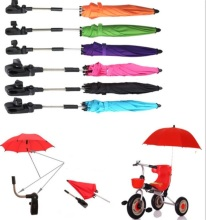2017 Hot Sale Clamp Umbrellas For Baby Stroller