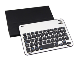High Quality FT 1008 Ultra Thin Folio Cover Case with Removable Bluetooth Keyboard for Ipad Mini 1/2/3