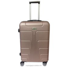 travelling luggage sets abs case factory suitcase trolley