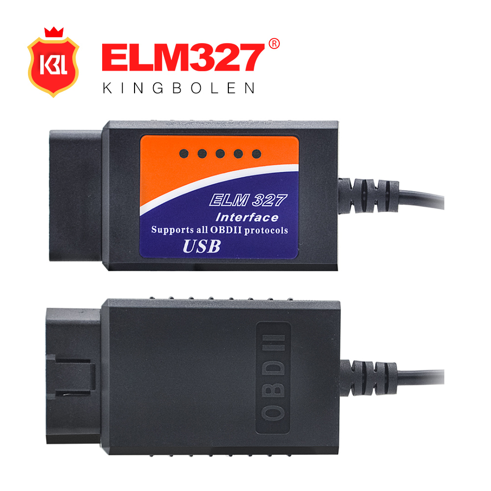 ELM327 USB Diagnostic Scanner 2015 High Quality OBD/OBDII Scanner ELM 327 Car Diagnostic Scanner
