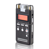 High quality usb telephone digital voice recorder dictaphone mini audio recording device