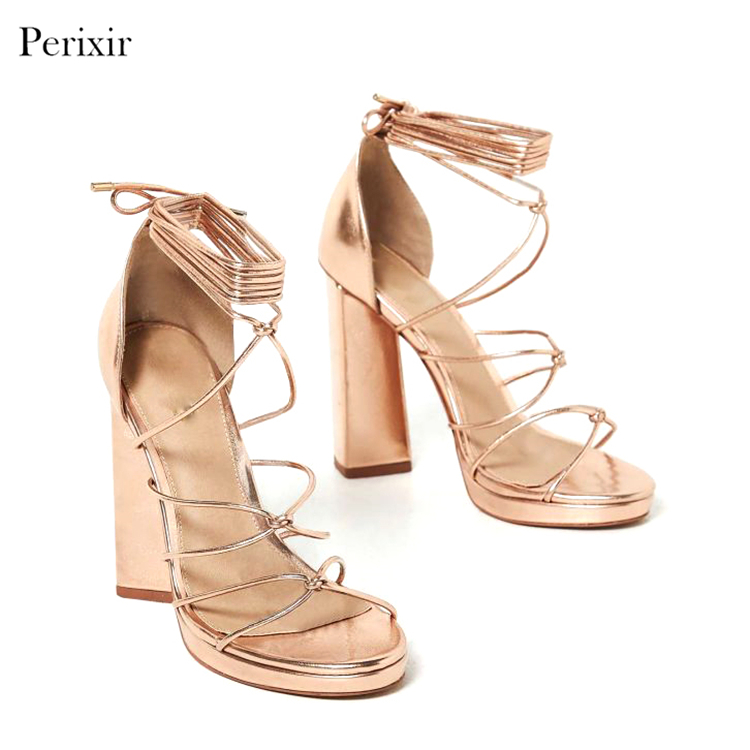 Italian Design Women Shoes High Heel Sex Sandal