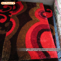 100% polyester turkish patchwork rugs