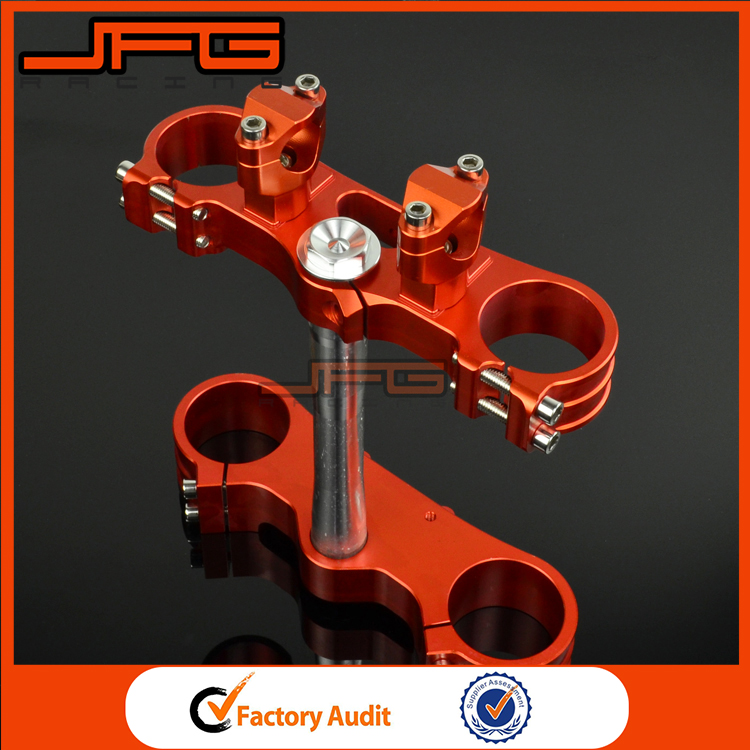 Motorcycle CNC Billet Triple Clamps For KTM SX SXF Motocross Enduro Supermoto WP 54/60MM Fork