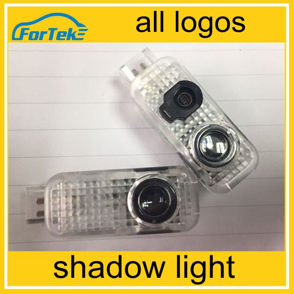 2016 New product custom led ghost shadow car logo light door light led