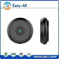 Wireless portable aux bluetooth adapter,aux Bluetooth Music Receiver with mic for car amplifier