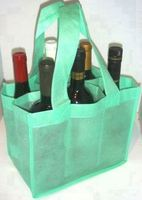 Top quality 6 pack wine cooler bag
