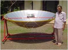 solar box and parabolic cooker