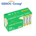 Sidiou Group Alkaline LR03 AAA 1.5 v Dry Battery Disposable Batteries AAA or No 7 Battery (Pack of 24)