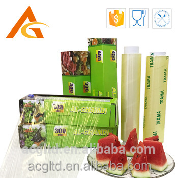 PVC jumbo packing fresh fruit safe wrapping cling <strong>film</strong>