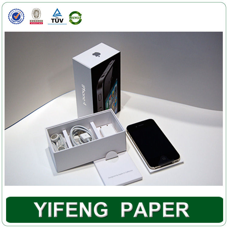Made in china factory custom printed cardboard luxury iphone packaging box alibaba trade assurance