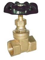 brass gate valve with handlewheel PN16