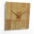 Raymons clock WW01084 china factory direct sale 35cm Square Wood Wall Clock