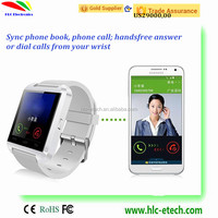 Bluetooth Smart Watch Phone Mate For IOS iPhone u8 smartwach New smart watch u8 smartwatch Phone