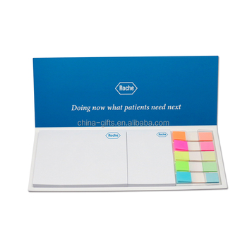 soft cover sticky note and pop-up PET index