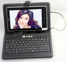 new arrival 7 inch cheap capacitive 5 pionts touch android 4.0 with 3G sim card phone call tablet pc