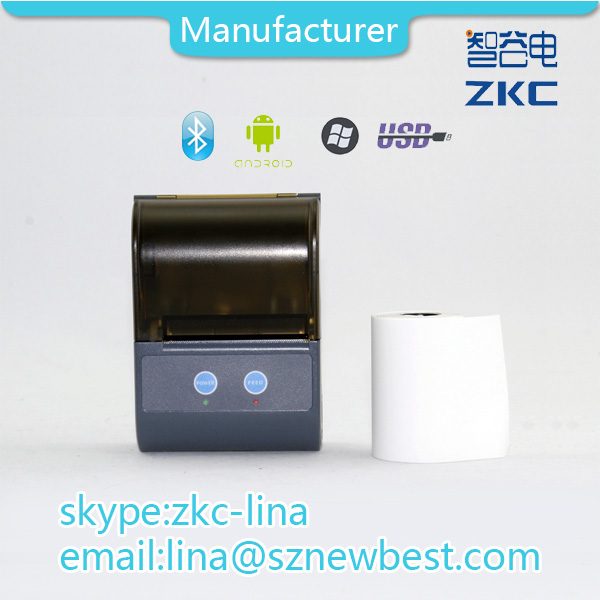 Top grade Small android thermal transfer printer / bluetooth printer with adapter