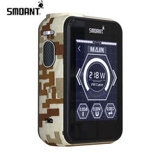 Newest Vape 2017 Smoant Charon Ts 218 Vape Mods Cigar Electronic Cigarette For Hot Sale