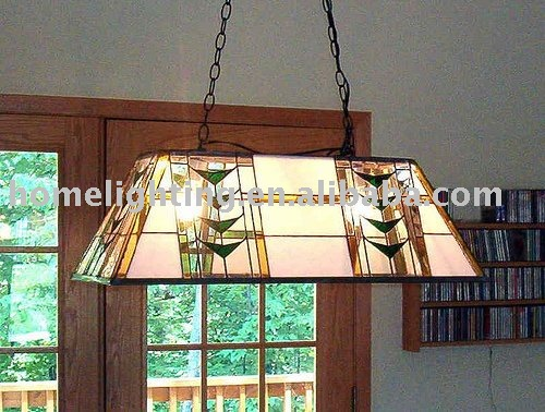 TF-3214G Tiffany style lamp square ceiling light