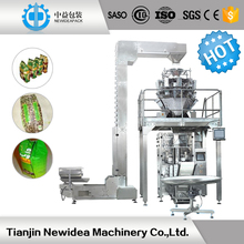 CE factory multi function weighing automatic surf packing machine