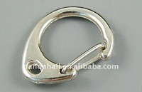 Alloy Key Chain Findings, Handbag Chain, Platinum Color(E340)