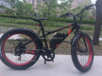 Battery power strong electric bicycle with brushless motor 36v conversion