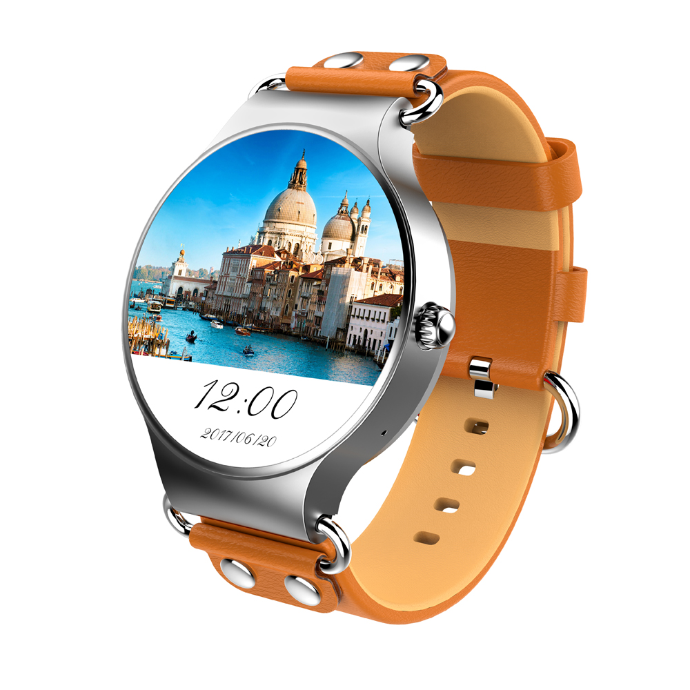 2018 OEM China Factory KingWear CE ROHS KW98 1.39 inch Android 5.1 Bluetooth WIFI Heart Rate Monitor Sport 3G Smartwatch <strong>Phone</strong>