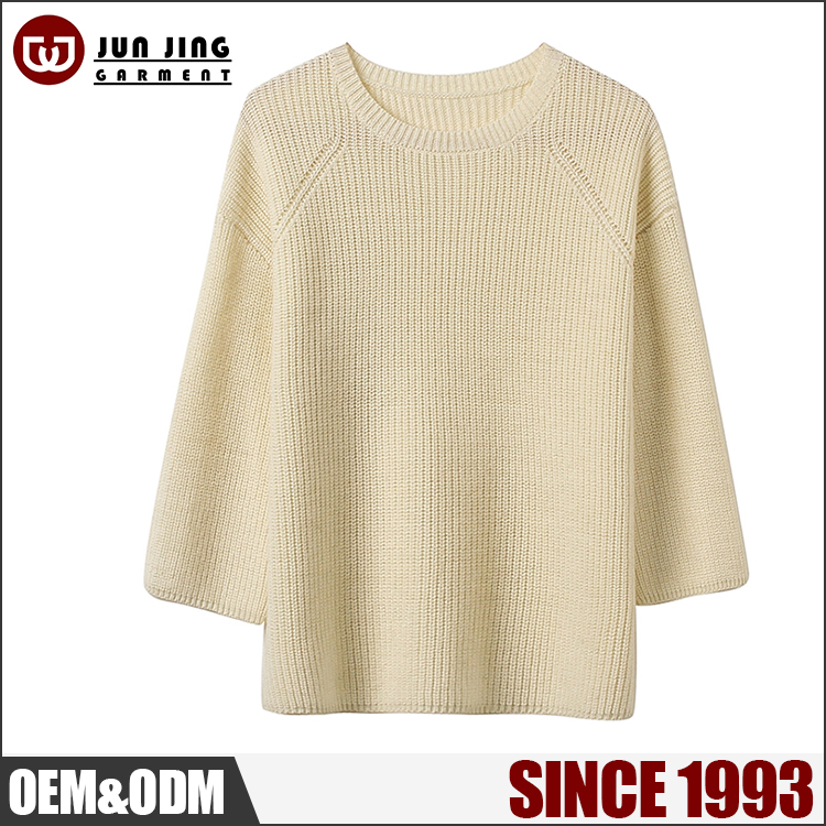 Wholesale European fashion style sweater custom women new design beautiful sweater