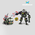 Improve intelligence popular robot educational building kit for children